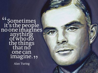 """Can machines think?"" – a chance to read the paper that formed the Turing Test by Alan Turing"