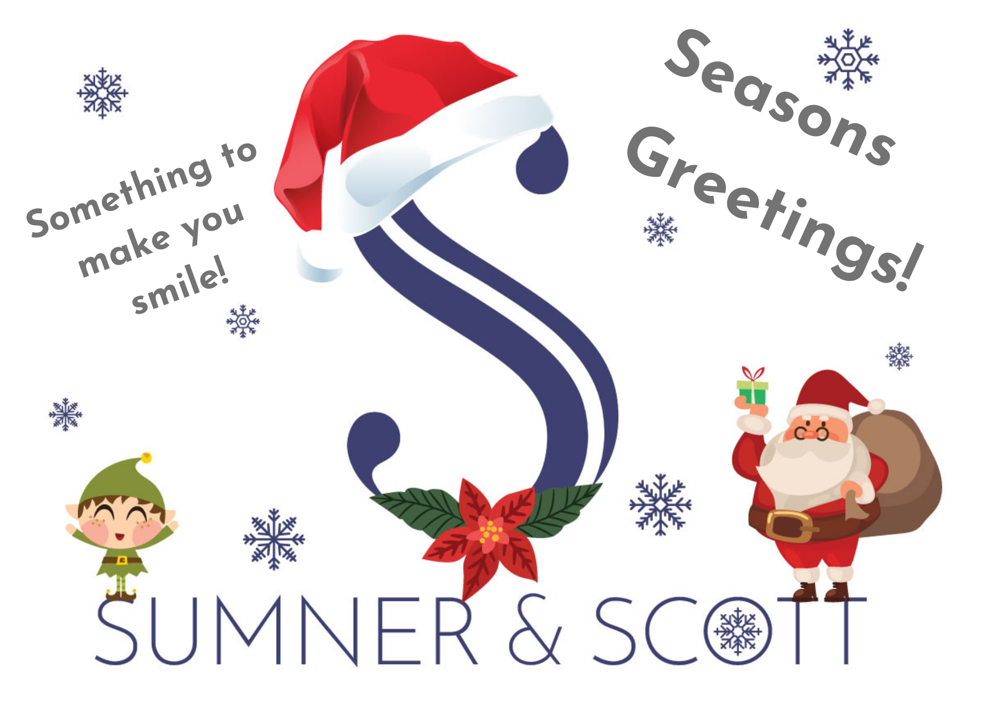 Seasons Greetings from Sumner & Scott!